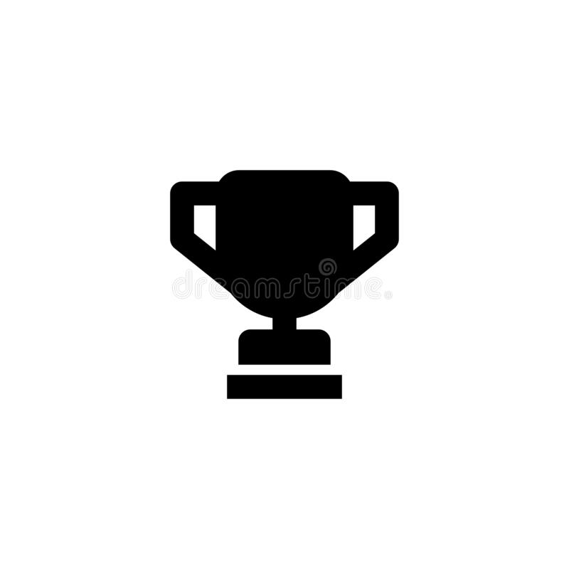 Championship cup icon. Race sign stock image