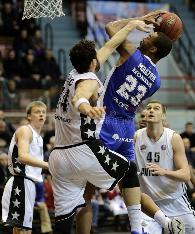 Championship VTB United League Basketball. stock photos