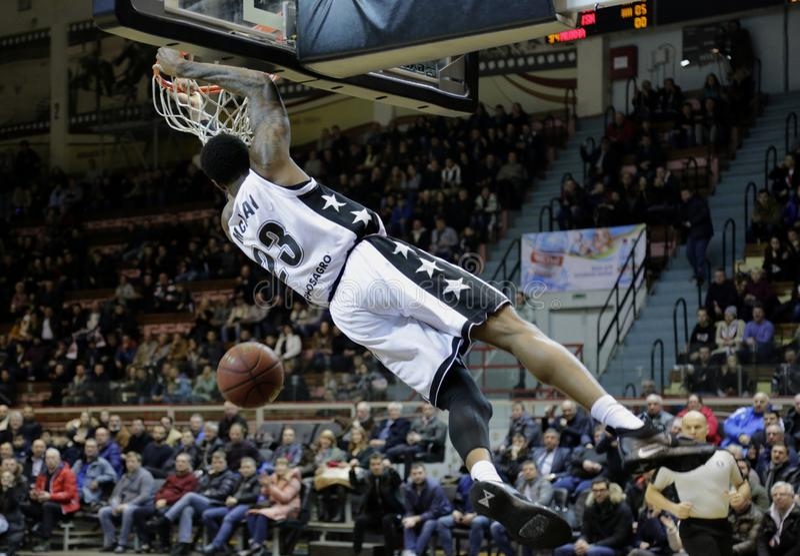 Championship VTB United League Basketball. stock image