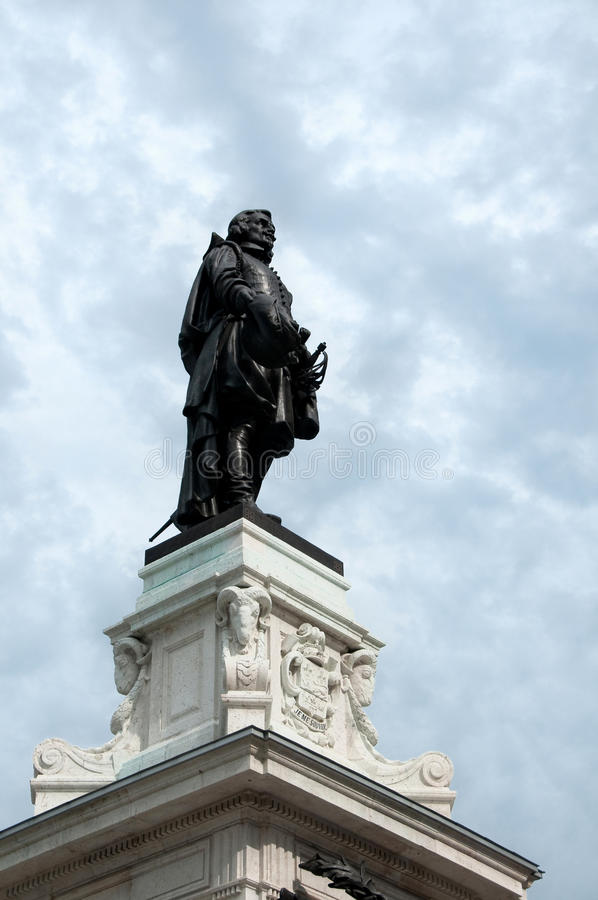 Champlain statue stock photos