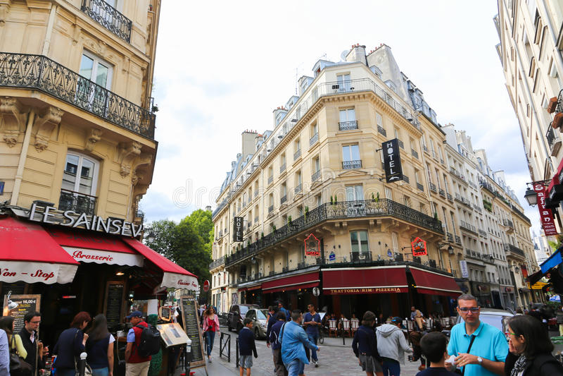 Champs-elysees - Paris stock photography