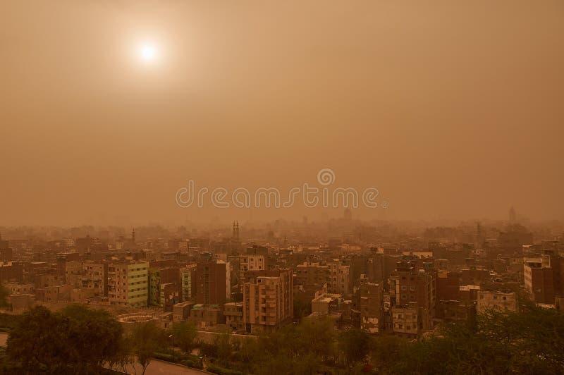 Chamsyn w Kair obrazy stock