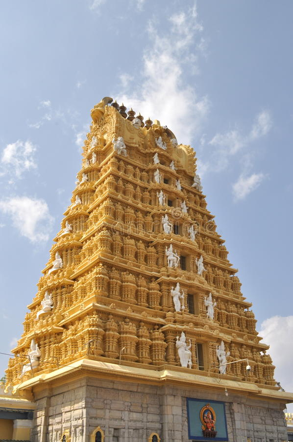 Download Chamundeshwari Temple. stock photo. Image of traditional - 30595138