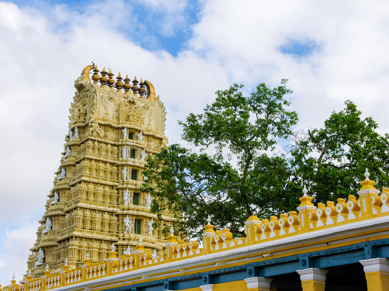 Chamundi Devi Temple royalty free stock photo