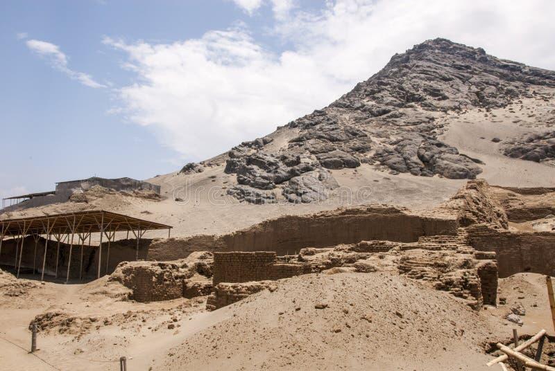 Chan Chan Archeological Site à Trujillo - Salaverry Pérou images libres de droits