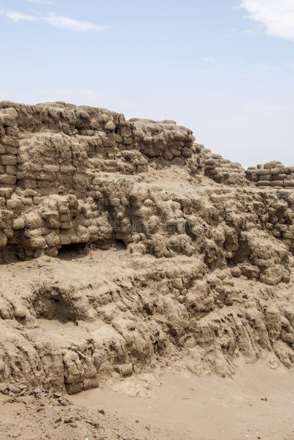 Chan Chan Archeological Site à Trujillo - Salaverry Pérou photos stock