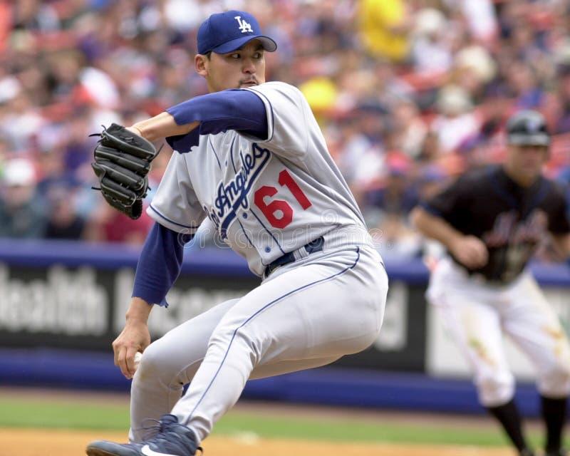 Chan-ho Park, Лос-Анджелес Dodgers стоковое фото