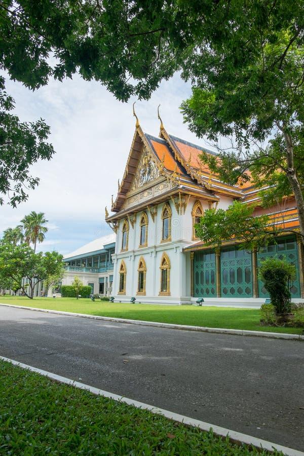 chan nakhon宫殿pathom sanam泰国 库存照片