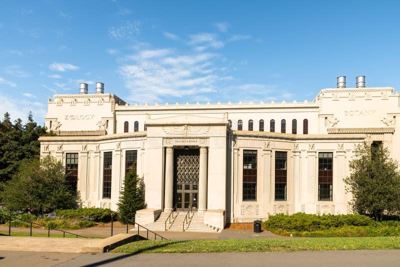 Chan Shun Auditorium von Berkely University lizenzfreies stockbild