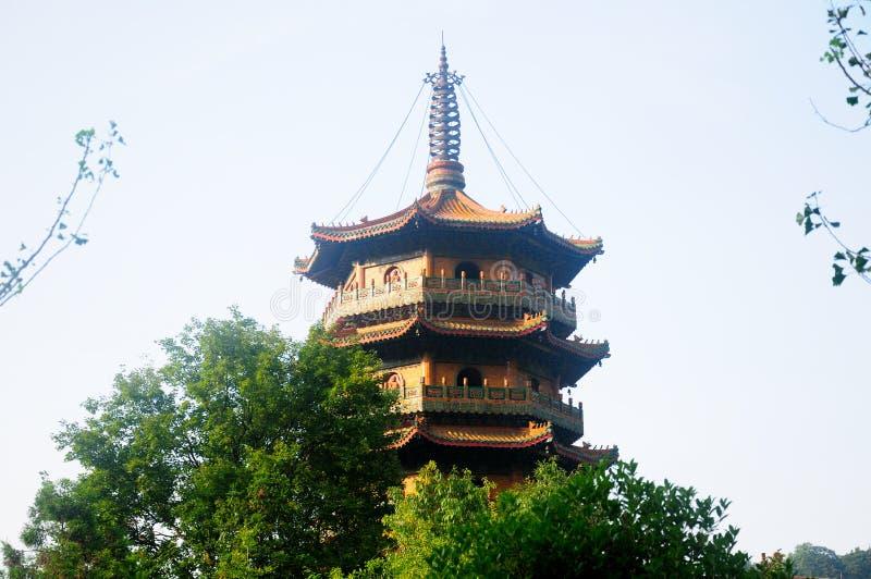 Chan Yuan Temple Pagoda China royalty-vrije stock afbeelding