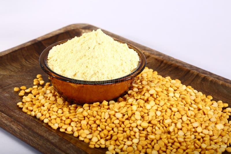 Chana Daal com Besan, alimento indiano imagem de stock