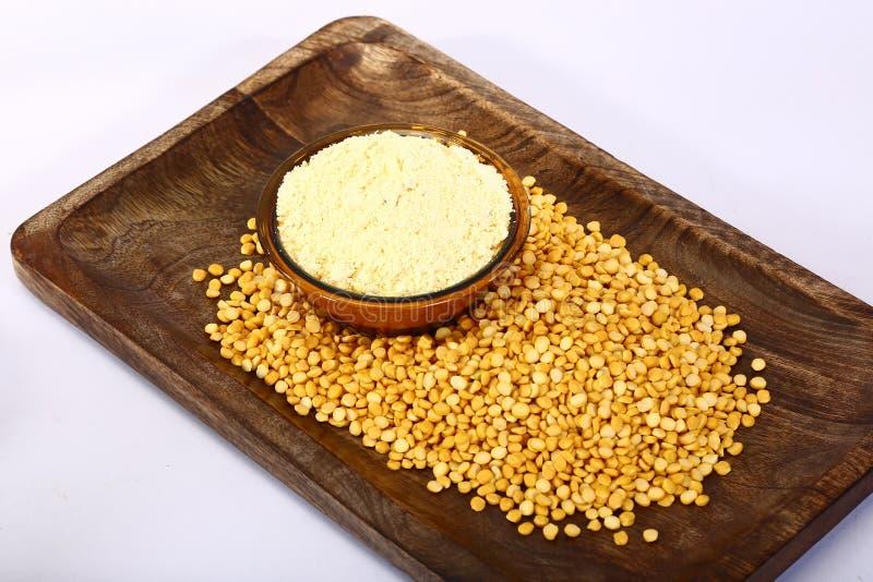 Chana Daal com Besan, alimento indiano fotos de stock royalty free