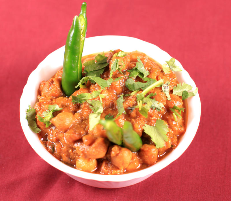 Chana masala stock photos