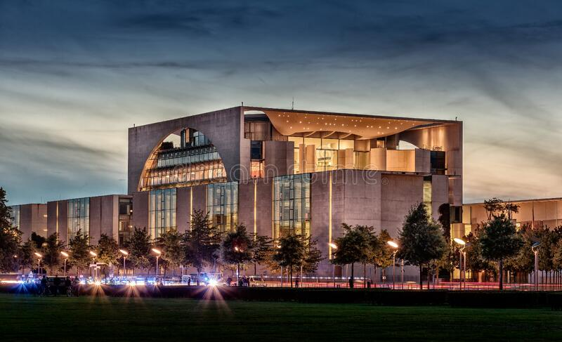 Chancellery building, Berlin, Germany stock photography