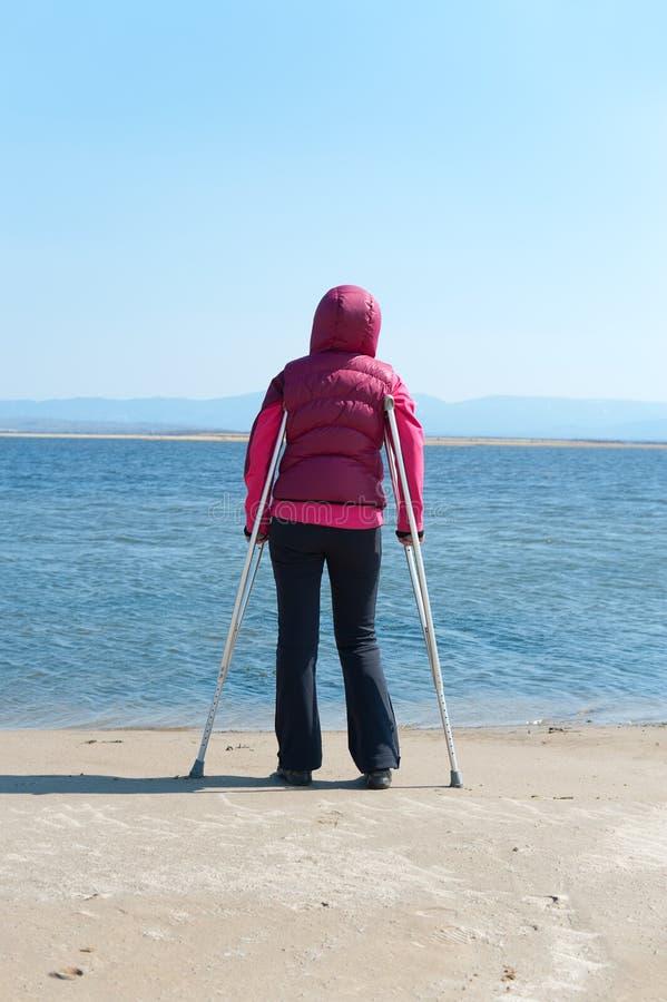 Chancengleichheit für Behinderte lizenzfreies stockfoto