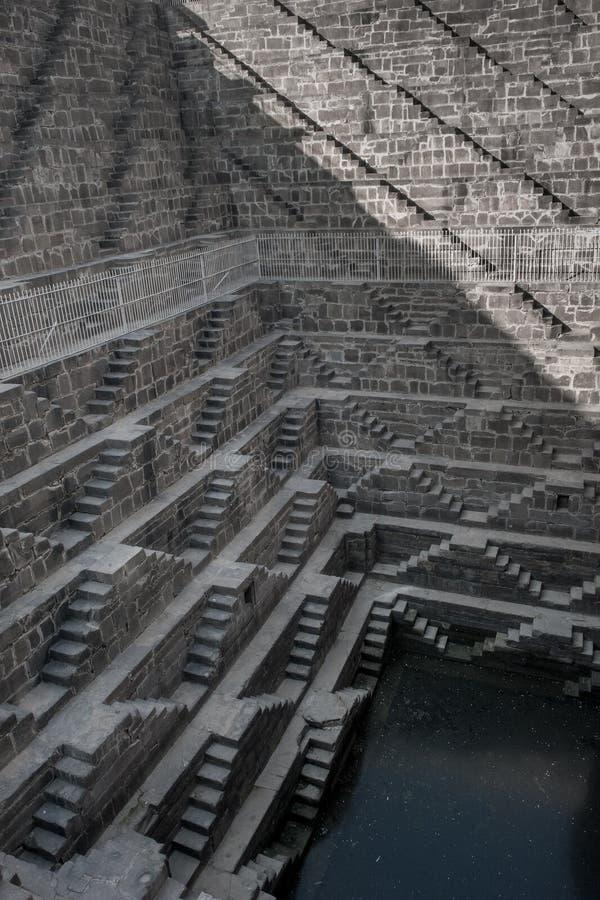 Download Chand Baori, één Van Diepste Stepwells In India Stock Afbeelding - Afbeelding bestaande uit wereld, water: 29506151