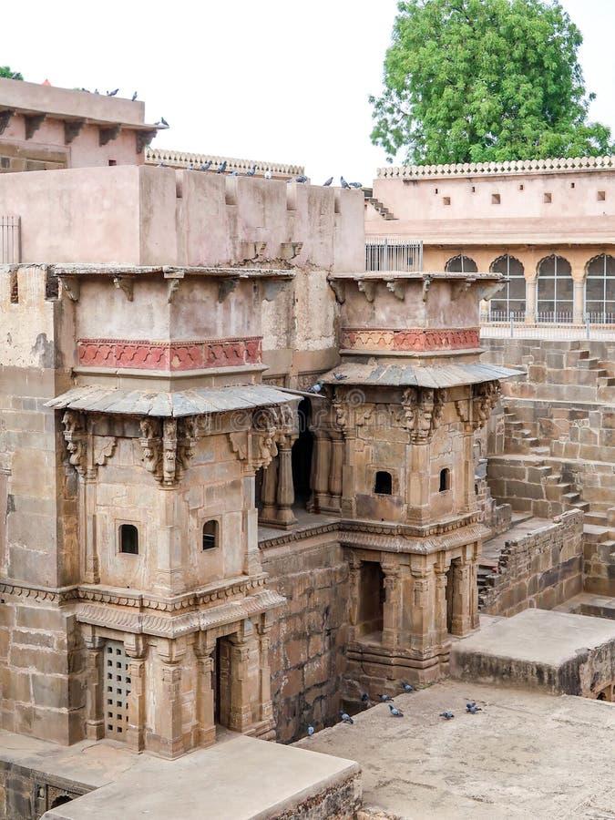 Chand Baori Stepwell, Jaipur, Rajasthan, ?ndia fotografia de stock