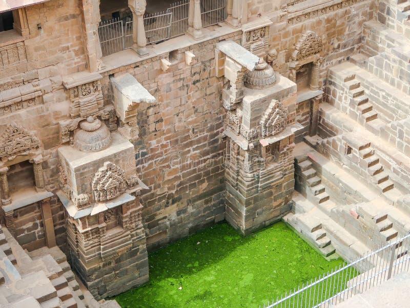 Chand Baori Stepwell, Jaipur, Rajasthan, ?ndia foto de stock royalty free