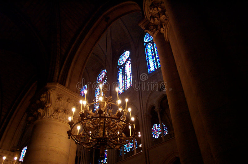 Download Chandelier stock photo. Image of interior, candles, clergy - 190