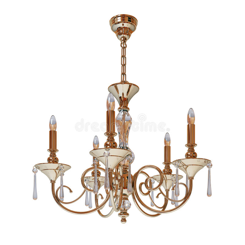 Download Chandelier stock illustration. Illustration of contemporary - 16921887