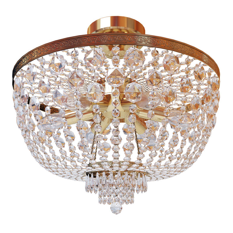 Chandelier. On a white background vector illustration