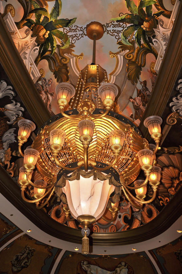 Download Chandelier stock image. Image of brown, palace, border - 24380453