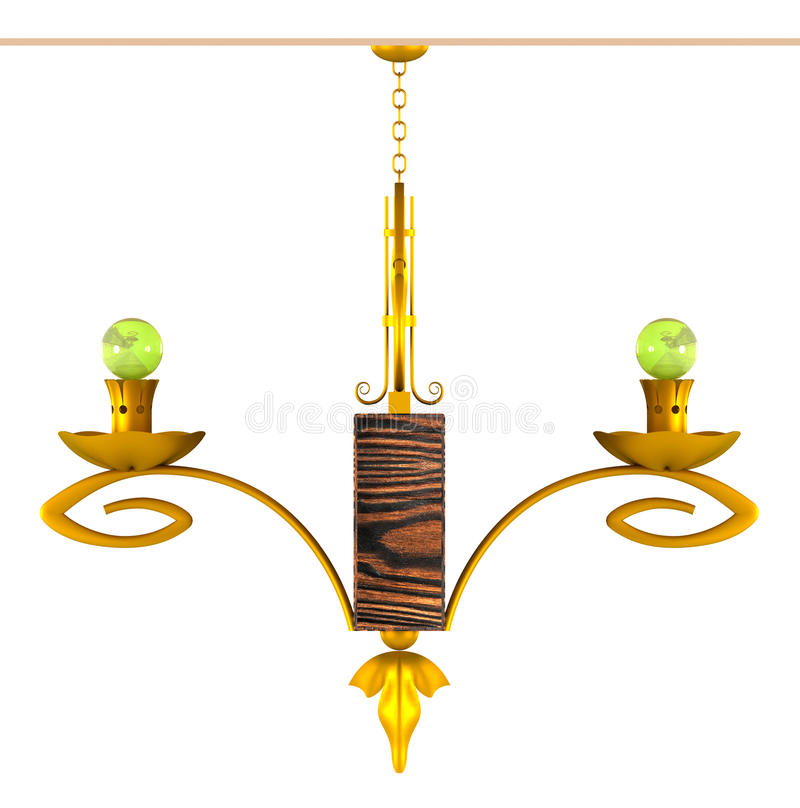 Download Chandelier Royalty Free Stock Images - Image: 25185759