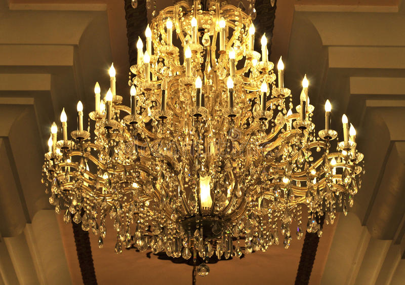 Download Chandelier stock image. Image of home, rustic, simple - 25221675