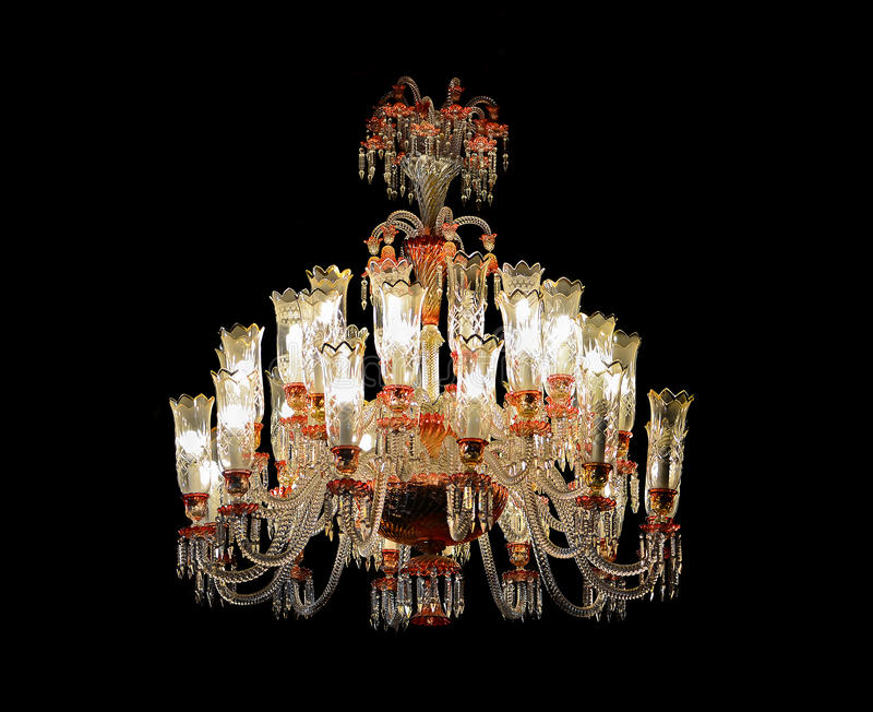 Download Chandelier stock image. Image of elaborate, jewels, isolated - 30644521