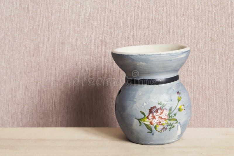 Chandelier en céramique bleu photo stock