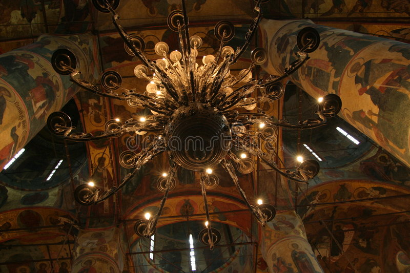 Download Chandelier In The Kremlin Royalty Free Stock Photography - Image: 13487