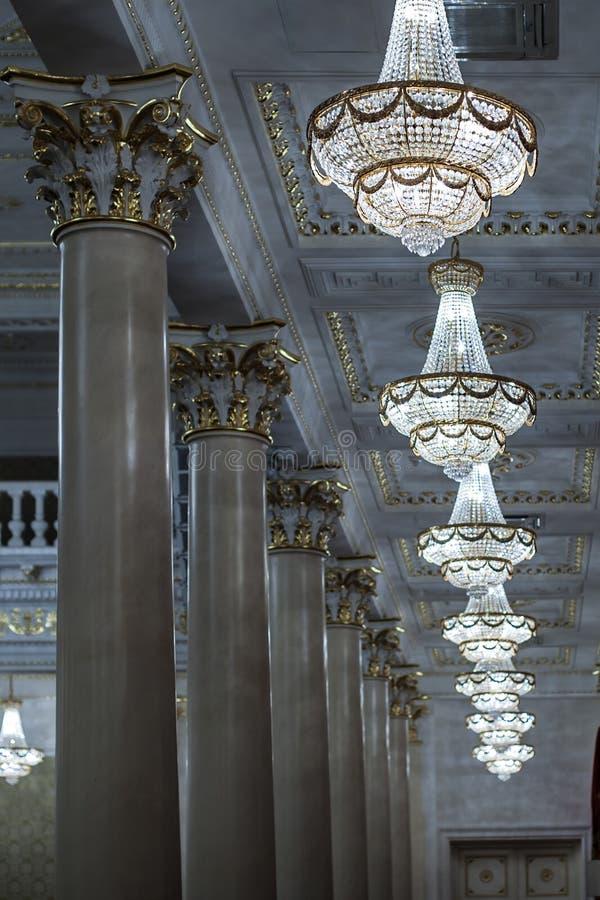 chandeliers royalty-vrije stock afbeelding