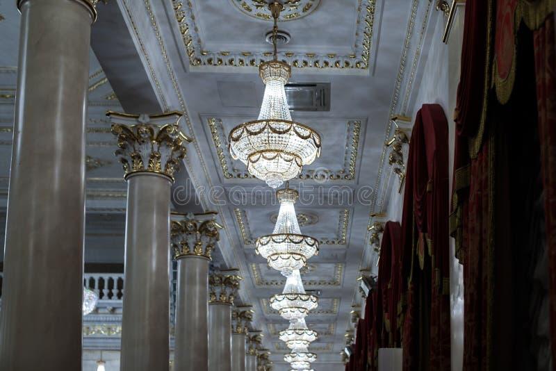 chandeliers stock afbeelding