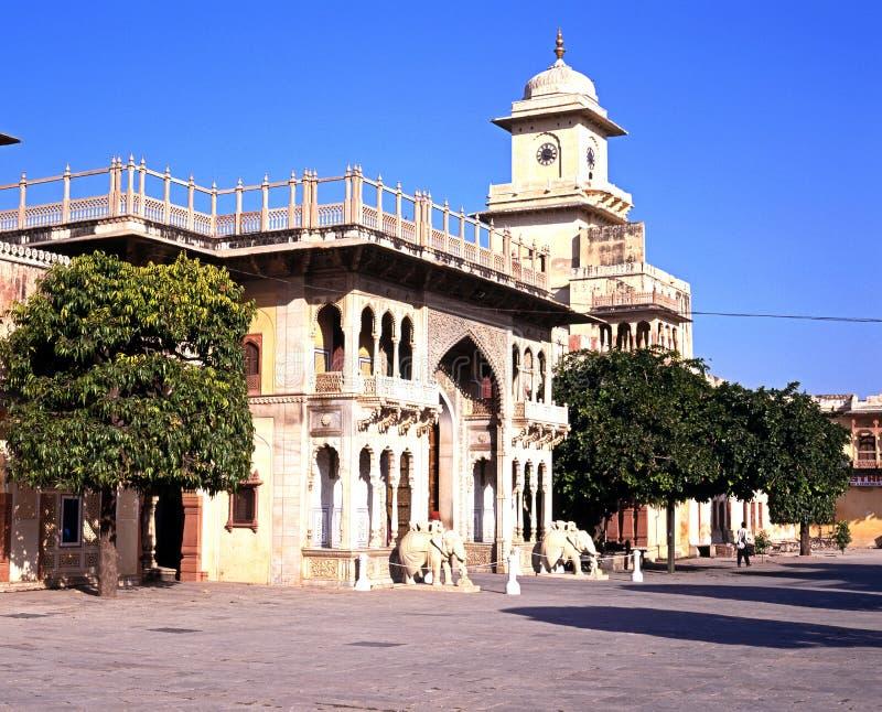 Chandra Mahal, Джайпур стоковые фотографии rf