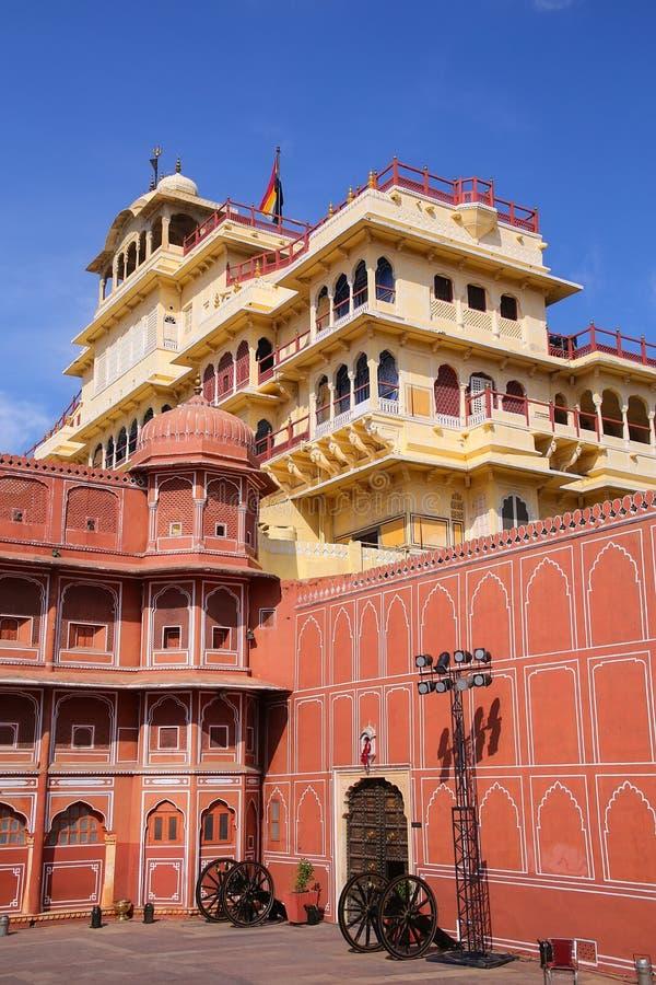 Chandra Mahal in Jaipur City Palace, Rajasthan, India stock image