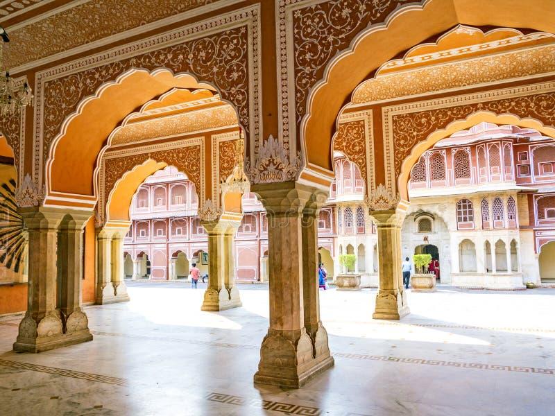 chandra miasta mahal pałac obraz royalty free