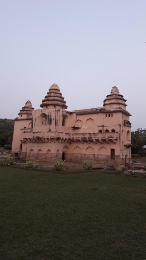 Chandragiri fort, Andhra pradesh/ India - february 10th, 2019 : Chandragiri palace or fort near tirupathi, andhrapradesh. Chandragiri fort, Andhra pradesh/ India royalty free stock images