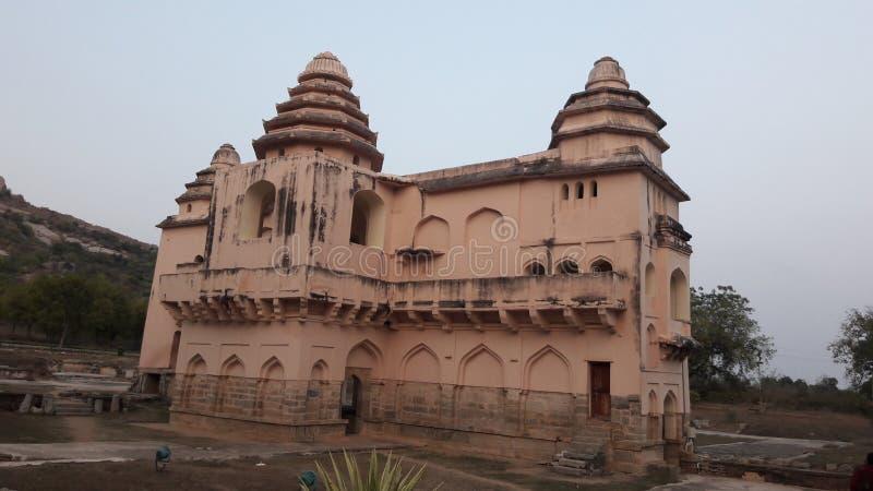 Chandragiri fort, Andhra pradesh/ India - february 10th, 2019 : Chandragiri palace or fort near tirupathi, andhrapradesh. Chandragiri fort, Andhra pradesh/ India royalty free stock photo