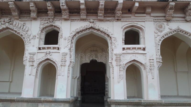 Chandragiri fort, Andhra pradesh/ India - february 10th, 2019 : Chandragiri palace or fort near tirupathi, andhrapradesh. Chandragiri fort, Andhra pradesh/ India royalty free stock photography