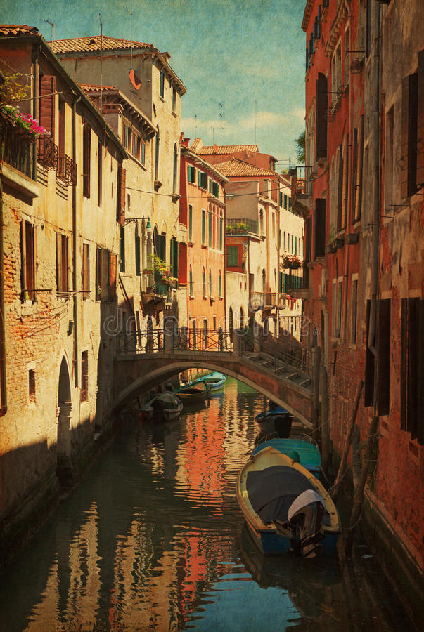 Chanel en Venecia imágenes de archivo libres de regalías