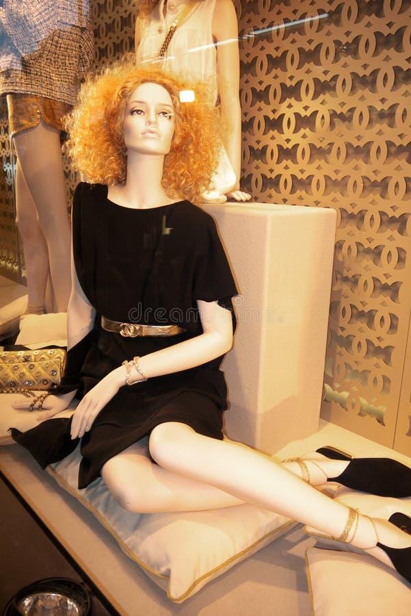 Chanel Fashion, Parijs royalty-vrije stock foto's