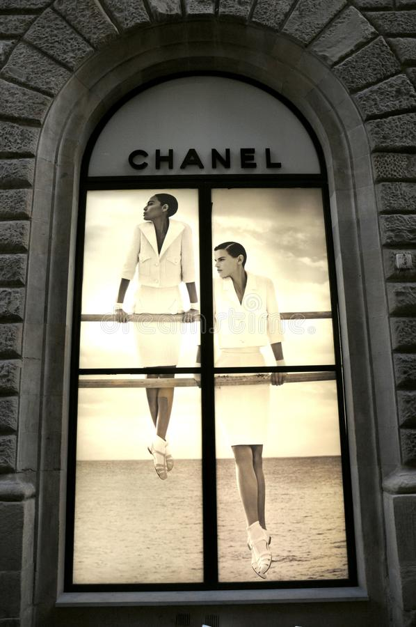 Download Chanel fashion store editorial image. Image of chanel - 23971805