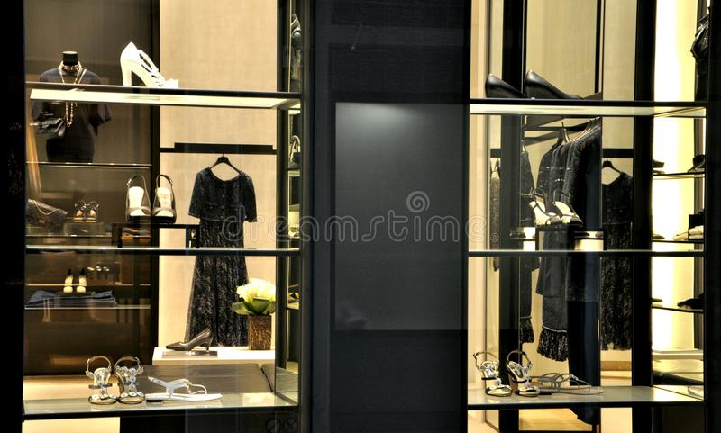 Download Chanel fashion store editorial stock image. Image of fine - 23971829