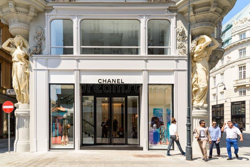 Chanel lager arkivbilder