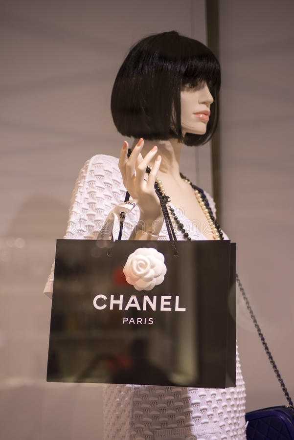 Chanel shop in Sidney royalty free stock photo