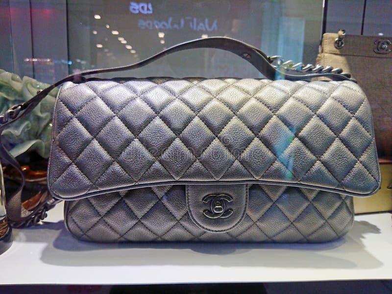 Chanel-zakken stock foto's