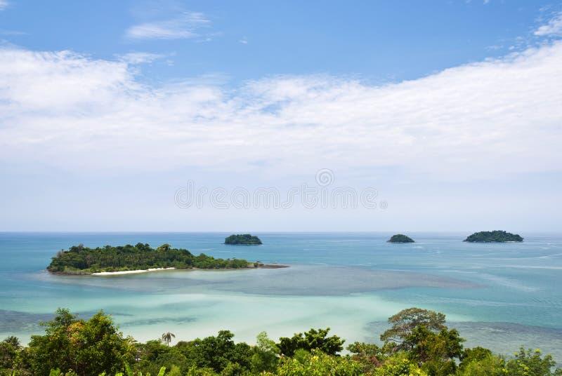 chang海岛酸值 免版税图库摄影