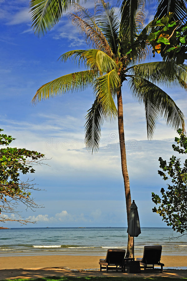 chang海岛ko泰国 图库摄影