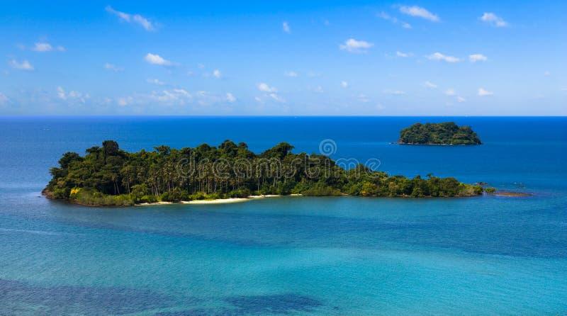 chang热带海岛的ko 免版税图库摄影