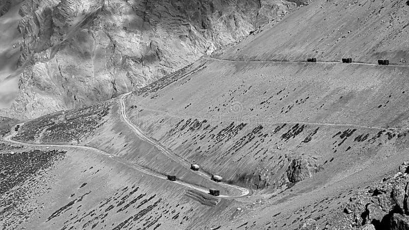 Chang la Pass image libre de droits